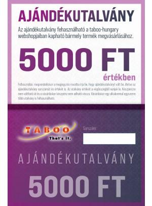Ajándék Utalvány 5000