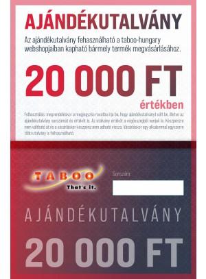Ajándék Utalvány 20000