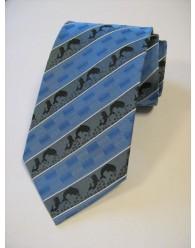 Nyakkendő Delfin Mintás